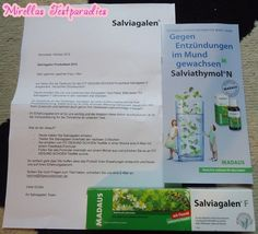 I tested the healthy herb-toothpaste Salviagalen F from MADAUS.