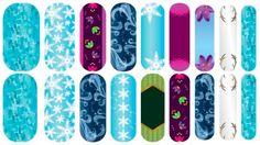 Custom Frozen nails!!! www.durablenails.com  www.andrearoane.com