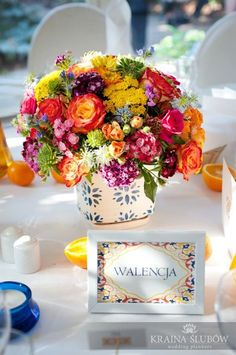 adornos mesa para boda mexicana - Buscar con Google #arreglosfloralesparamesa