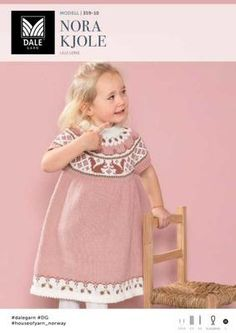 Nora Kjole - Køb billigt her Baby Patterns, Knitting Patterns, Baby Barn, Crochet Bebe, Kids And Parenting, Baby Toys, Baby Knitting, Knitwear, Romper