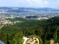 Great view from the Uetliberg. Photo by fork&talk