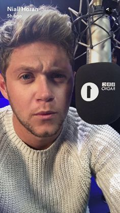 Niall on snapchat (10/5)