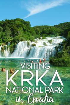"""Krka National Park is one of Croatia's best known attractions, and its naturally colorful pools provide a spectacular backdrop to relax with friends and to swim in the pristine waters. I had seen photos of Plitvice Lakes and Krka National Park onPinterestand they were some ofthe most serene natural wonders I had ever seen. I thought to myself, """"there's no way this place is real."""" Here's my experience visiting Krka National Park in Croatia!"""