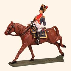 E 118 Grenadier a Cheval Officer 30mm Willie Mounted  Napoleonic Wars 1803 to…
