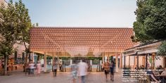 """Tile of Spain Award Winning Project """"New entrance to Palma's Intermodal Station,"""" designed by Joan Miquel Seguí Colomar Manado, Architecture Student, Architecture Design, Ceu San Pablo, Building Development, Call For Entry, Tile Manufacturers, Ceramic Floor Tiles, Architectural Section"""