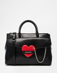 Love Moschino | Love Moschino Tote Bag with Heart Detail at ASOS