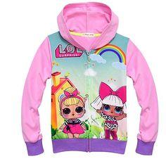 lol surprise dolls Game Kids Hoodie Hoody Tops Jumpers SweatShirt party costume