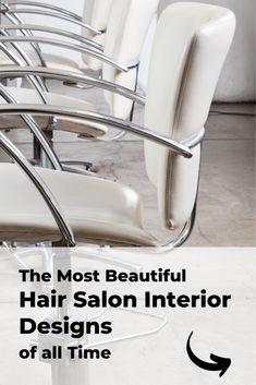 The most beautiful and modern hair salon decor ideas and hair salon designs. Find hairdressing salon pictures of interior design, salon layouts, hair salon decorations, hair styling stations, receptions, and salon waiting areas. Hair Salon Stations, Styling Stations, Hair Salon Interior, Salon Interior Design, Small Salon Designs, Salon Waiting Area, Salon Reception Area, Salon Lighting, Salon Pictures