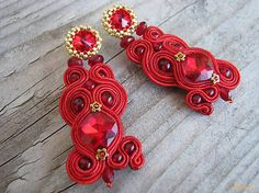 Ridgways / Red Princess...soutache