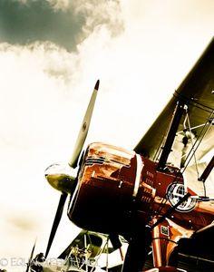Vintage airplane print