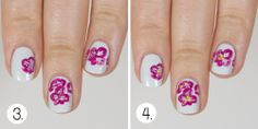 Wondrously Polished: The Beauty Buffs - Radiant Orchid Trend: Nail Art & Tutorial