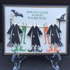 Stamp with Anna: More Halloween Cards