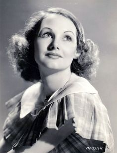 An MGM promotional photo of Liz Allan in the 1930's during her time in Hollywood