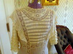 Antique Victorian dress, Pittock Mansion, Portland Oregon