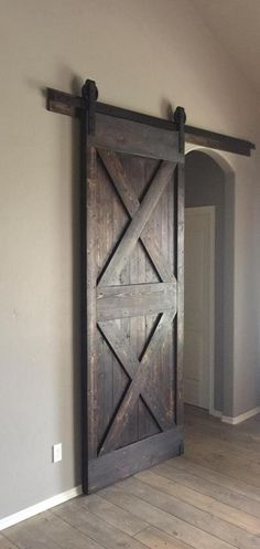The Alexis Style Barn Door by Homegirl Rockwall.