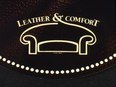 Logo Leather & comfort creato per una nuova linea di divani by Natuzzi per il mercato americano. Creative director: Mauro Giammarini Art director: Mauro Giammarini Graphic design: Mauro Giammarini Agenzia: Uffico marketing Natuzzi S.p.A. Santeramo in Colle (Ba) Italy