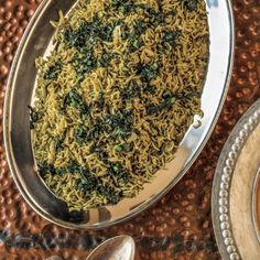 Pilaf with Kale