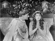 Harry Hilliard and Theda Bara in ROMEO AND JULIET (1916)