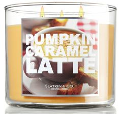 pumpkin caramel latte candle bath and body works