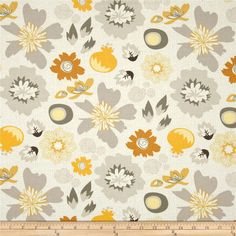Designed by My Mind's Eye for Riley Blake, this fabric is perfect for quilting, apparel and home décor accents. Colors include yellow, sienna, cream and grey.