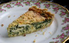 Tarta vegetariana de espinacas y queso ricotta - Sabrosía