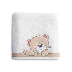 Biela dojčenská osuška s mackom Teddy Bear, Toys, Animals, Activity Toys, Animales, Animaux, Clearance Toys, Teddy Bears, Animal