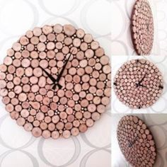 Doğal Odun Saat