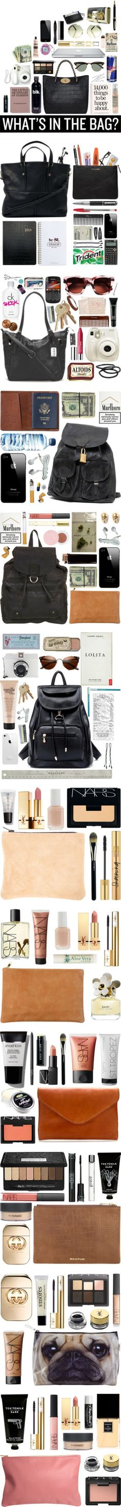 """what's in the bag?"" by goldiloxx on Polyvore"