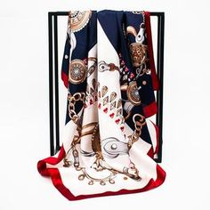 Summer Satin Scarf Gradient Printed Women Silk Scarf Square Shawls Foulard Bandana Head Scarves Hijab Color Green Size 90 X 90 CM Chiffon Shawl, Cozy Scarf, Summer Scarves, Pashmina Scarf, Butterfly Print, Cashmere Scarf, Square Scarf, Women's Summer Fashion, Scarf Styles