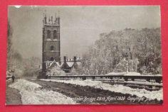 Oxfordshire - Oxford, Magdalen Bridge, 26th April 1908, with Snow PC PM 1908 | eBay