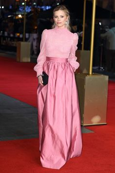 Pink | Valentino. I think I would actually do this. Except in a different color...