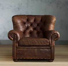 Buster Leather Chair   Restoration Hardware, Sadly No Longer An Option.