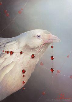 White Shadows: The Crow by jusabi.deviantart.com on @DeviantArt