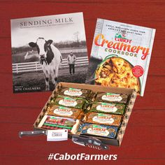 Happy National Farmers Day! Pin a farmer photo (we suggest the great pix from https://www.cabotcheese.coop/our-farm-families) by 11:59pm on Oct 12, 2015 and tag @cabotcheese & #CabotFarmers and you will be entered to win a very special gift from our farm families!