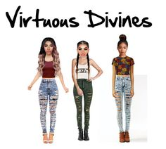 """Introducing Virtuous Divine"" by virtuous-divines ❤ liked on Polyvore featuring Alice + Olivia and Alexander Wang"