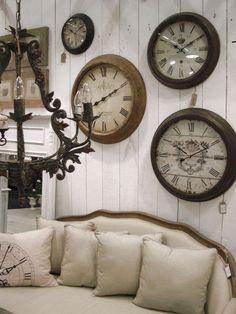 Vintage looking clocks