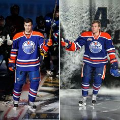 Jordan Emberly &Taylor Hall 2015 Taylor Hall, Marc Andre, Edmonton Oilers, Nhl, Hockey, Field Hockey, Ice Hockey