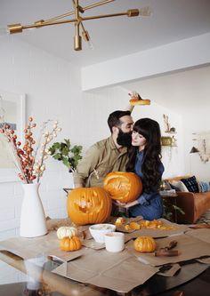 New Darlings - Pumpkin Carving - Pumpkin mistletoe