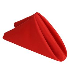 Efavormart RED Wholesale Polyester Linen Napkins For Wedding Birthday Party Tableware - 5 PCS Cloth Napkins Bulk, Cloth Napkin Folding, Linen Napkins, Valentines Day Decorations, Holiday Decorations, Wedding Decorations, Chair Sashes, Wedding Place Settings, Banquet Tables