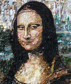 Jane Perkins   A artista adora criar obras através das quinquilharias que ela acha por aí - ObaOba