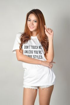 Funny T-Shirt Harry Shirt Message Tee Womens Graphic Tees