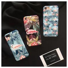 火烈鸟苹果6plus手机壳磨砂imd全包软壳iPhone7 4.7寸保护套