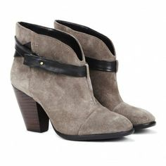 Skylar Booties - A Great Slip On Style To Pair With Skinny Jeans!