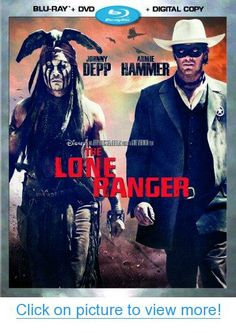 The Lone Ranger (Blu-ray + DVD + Digital Copy) #Lone #Ranger #Blu_ray #DVD #Digital #Copy