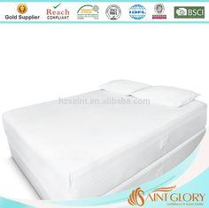 Waterproof Zippered Mattress Cover Allergy Relief Bed Bug Hypoallergenic MX