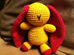 Doumyati- Les doudous sans visage: le lapin flashy