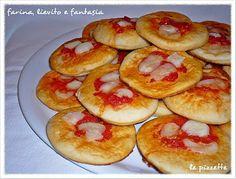 Farina, lievito e fantasia: Le pizzette