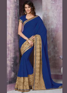 http://www.sareesaga.in/index.php?route=product/product&product_id=16342 Style:Designer Saree Shipping Time:10 to 12 Days Occasion:Festival Reception Ceremonial Fabric:Net Faux Chiffon Colour:Blue Work:Resham Work Zari Work For Inquiry Or Any Query Related To Product,  Contact :- +91 9825192886