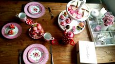 high tea! pink, pip and a lot of sweets
