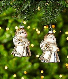 Dillards Trimmings The Christmas Pageant Singing Angels Ornament Set #Dillards